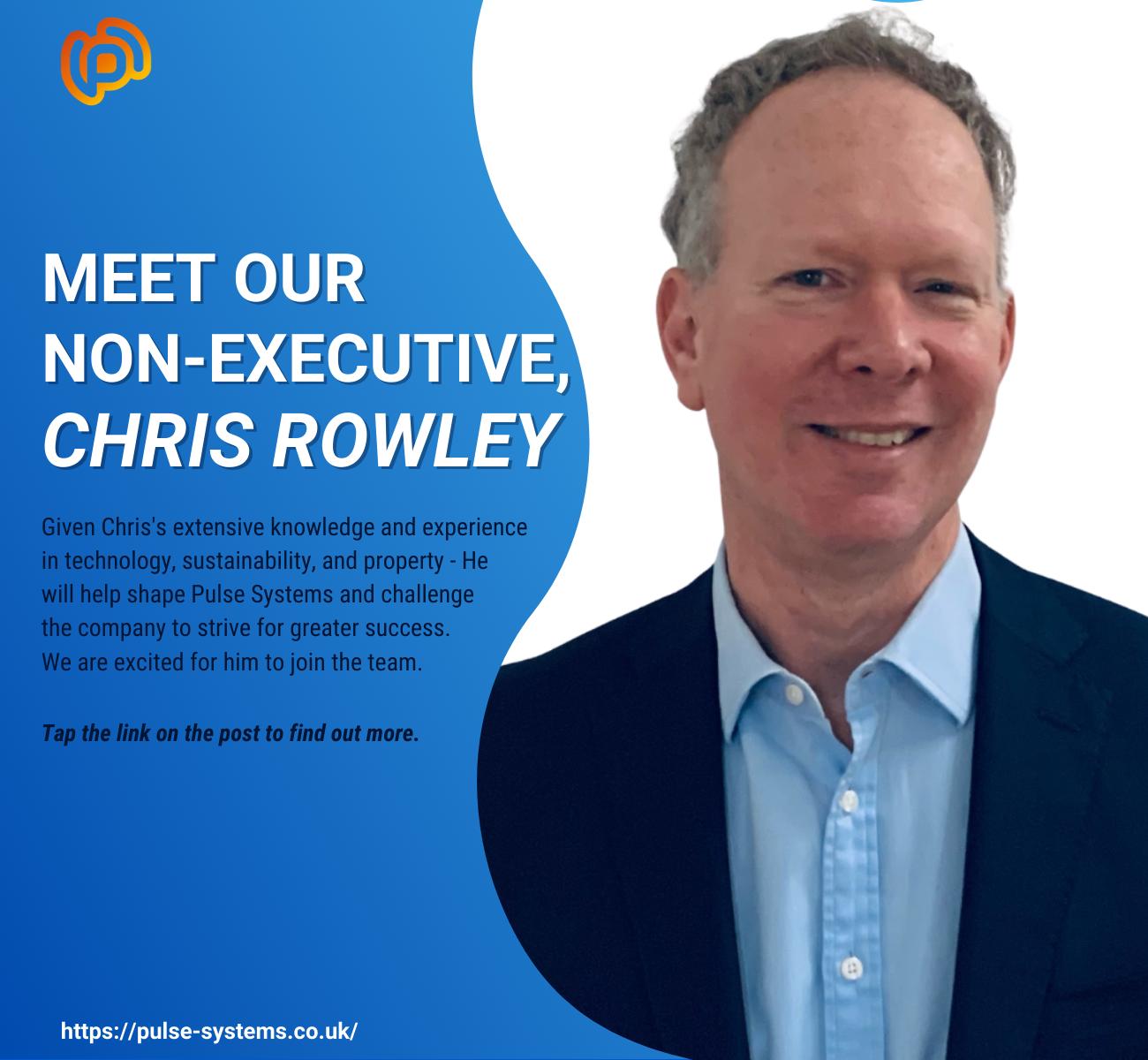 Chris Rowley joins Pulse as a non-executive director