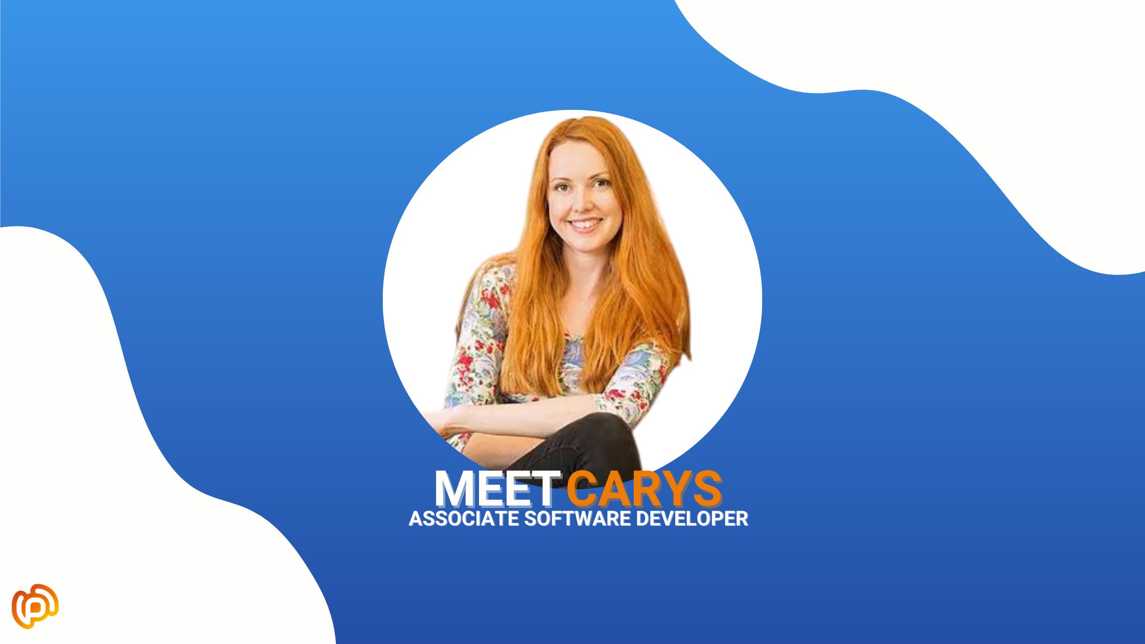 Meet Carys, Associate Software Developer!